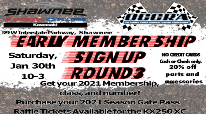 Early Membership Sign-Up at Shawnee Honda