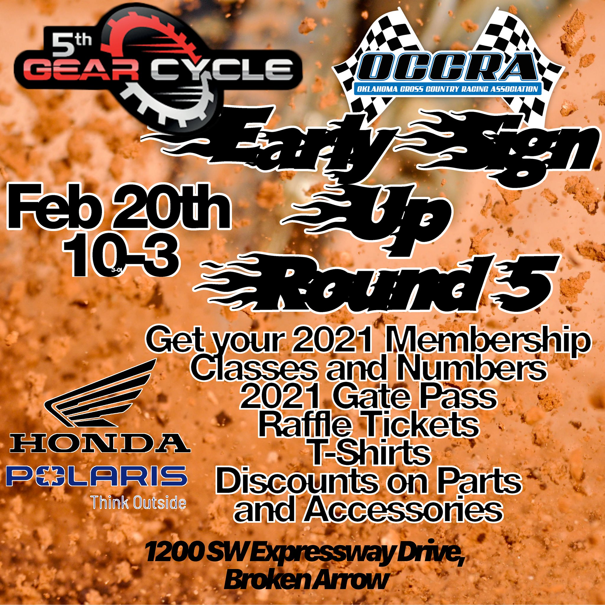 Final Early Sign-Up at 5th Gear Cycle